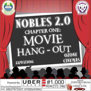#LifeInUnilag: 'Nobles' presents Chapter One – Movie Hangout!