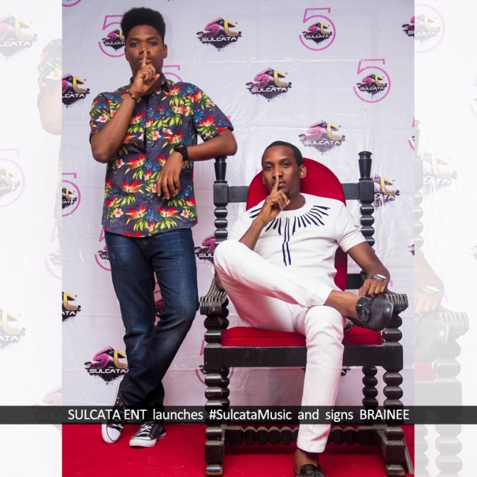 #LifeInUnilag: SULCATA LAUNCHES ARTISTE MANAGEMENT ARM #SulcataMusic AND SIGNS  HIP-HOP ARTISTE – BRAINEE