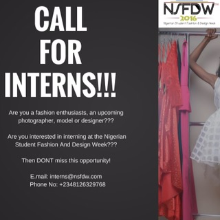 #LifeInUnilag: Nigerian Student Fashion & Design Week is taking interns! – DETAILS HERE