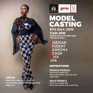 #LifeInUnilag: Nigerian Student Fashion and Design week announce date for Model casting! – DETAILS HERE