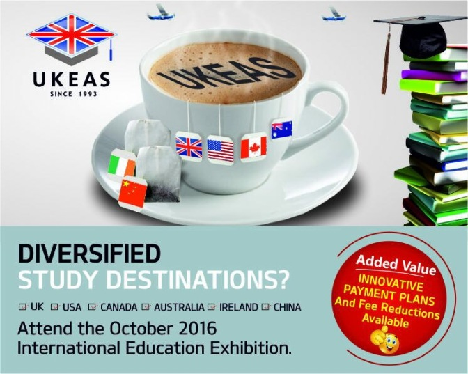 #LifeInUnilag: Attend the 11TH UKEAS International Education EXPO! | DETAILS HERE