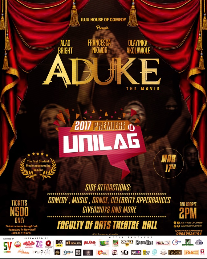 Aduke The Movie Set To Premiere In Unilag This March!